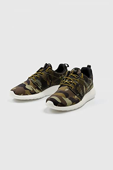 good texture high fashion outlet on sale Nike Basket Sneakers Roshe One Hyp Camouflage Kaki ...