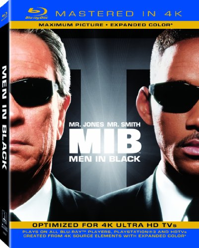 Price comparison product image Men in Black (Mastered in 4K) (Blu-ray + UltraViolet)
