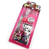 Set school 'Monster High' pink black.