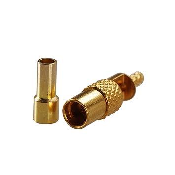 PC-Case 5pcs RF Cable eléctrico Terminal Conector MMCX conector recto de soldadura para cable