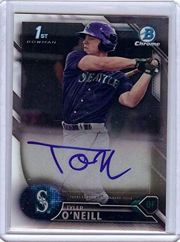 Tyler O'Neill 2016 Bowman Chrome RC Rookie Card Auto Autograph Mariners #TO (Auto Oneill)