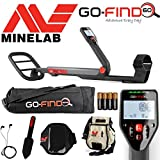 Minelab GO-FIND 60 Detector with Carry Bag, FindsPouch, Trowel, Smart Phone Holder and Earbuds