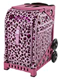Zuca Pink Leopard Bag - choose your frame color!