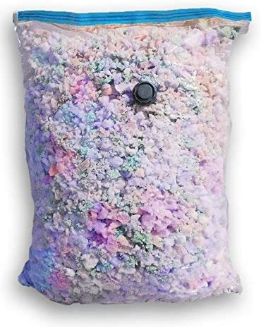 and Arts /& Crafts Made in USA Premium High Grade 3.5 lbs Density Shredded Memory Foam Fill Refill Replacement for Bean Bags 25 pounds Cushions Pillows Chairs Pet Beds