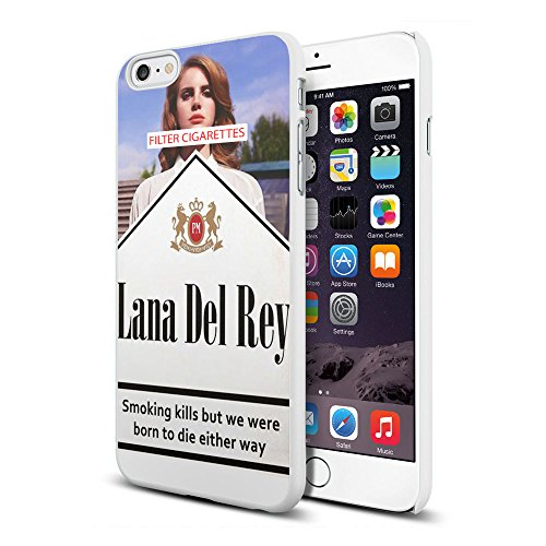 Lana Del Rey Cigarettes born to die Iphone and Samsung Galaxy Case (iphone 6plus white)