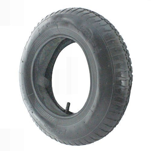 First4spares Ride on Lawnmower & Wheelbarrow Tyre and Inner Tube Wheel Tyre 3.50 - 8, 35PSi F4S038