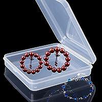 Caja organizadora de plástico, 10 departamentos joyería, caja ...