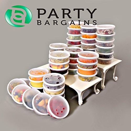 Party Bargains Storage Containers with Lids | Foodsavers