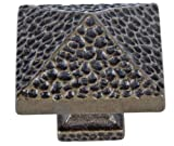 Atlas Homewares 2237-BB 1-1/4-Inch Craftsman Corner Knob, Burnished Bronze
