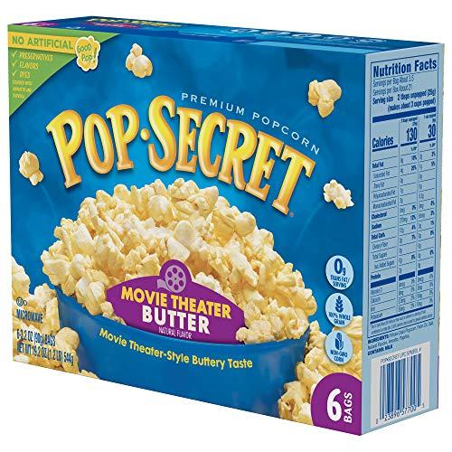 Pop Secret Popcorn Nutrition Label Pensandpieces