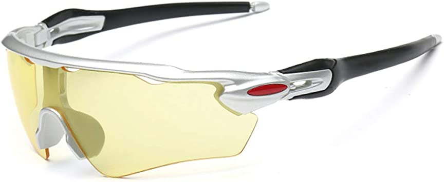 Gafas de Sol Polarizadas con Lentes Deportivas y Espejo para Ciclismo MTB Running Tr90 Superlight Marco Gafas Correa para Pesca Playa Golf Senderismo: Amazon.es: Deportes y aire libre