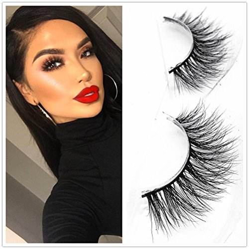 Mink Lashes Strip Natural Style Siberian Fur Fake Eyelashes Hand-made False Eyelash 1 Pair Miss Kiss False Eyelashes 3D06