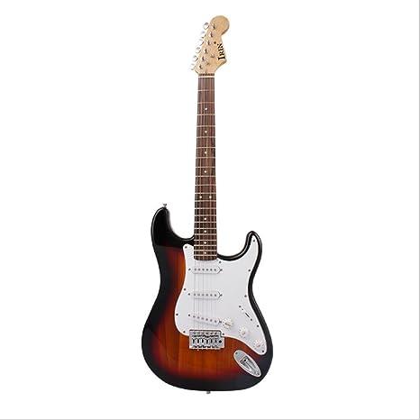 Sunset color black electric guitar Conjunto de guitarra eléctrica ...