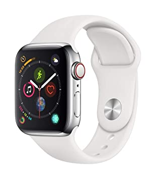 Apple Watch Series 4 (GPS + Cellular) con caja de 40 mm de acero
