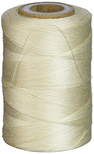 Star Mercerized Cotton Thread Solids 1200 Yards-Cream