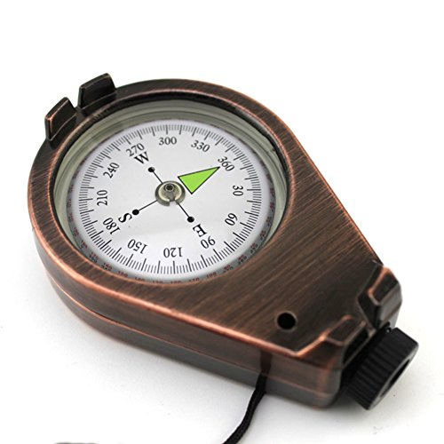 YUNJIE Camping Survival Compass,Pocket Compass High Accuracy Waterproof And Shakeproof Outdoor Camping Hiking Gifts by YUNJIE