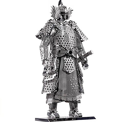 3d Metal Art (D-Mcark 3D Metal Models Art Metal Works 3D Laser Cut Models Puzzle Tool Kit Warrior's Armor)