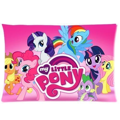 Amazon com: Cartoon My Little Pony Custom Rectangle Pillow