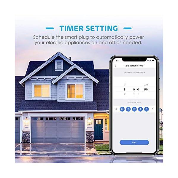 Presa Intelligente Wifi Smart Plug Spina Wireless 16A 3680W, Funzione Timer, Compatible con SmartThings, Alexa, Google… 2 spesavip