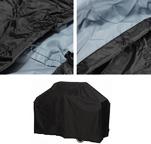 Vococal Housse Barbecue Protection Anti-poussière Anti-UV Anti-pluie 124x61x91cm