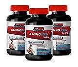 Muscle Mass Pills for Men - Amino Acids 1000Mg - TOP Amino Acids Blend - l-Lysine Vitamins - 3 Bottles 300 Capsules