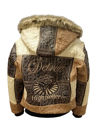 REED Men's Detroit High Roller Jacket (2XL, brown)