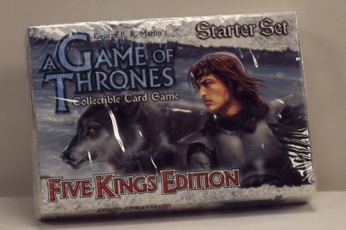 A Game of Thrones Collectible Card Game - Five Kings Edition Starter Set