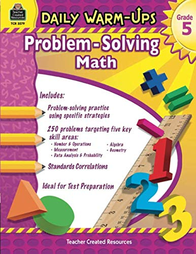 Daily Warm-Ups: Problem Solving Math Grade 5: Problem Solving Math Grade 5 (Daily Warm-Ups: Word Problems)