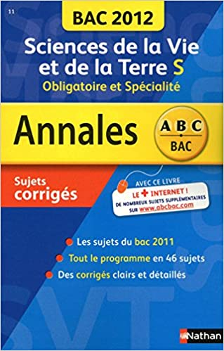 En ligne téléchargement gratuit ANNALES BAC 2012 SVT TS OBLI + epub, pdf