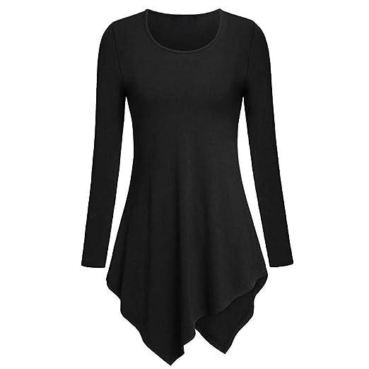 9a83a53dd936f3 Women Blouse Cinsanong Casual Long Sleeve Solid Tops Fashion O-Neck Loose
