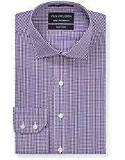 Van Heusen Euro Tailored Fit Business Shirt, Mauve, 43 90