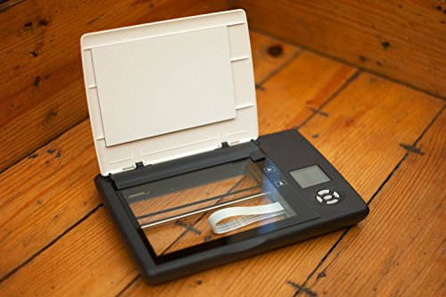 Doxie Flip - Cordless Flatbed Photo & Notebook Scanner w/ Removable Lid