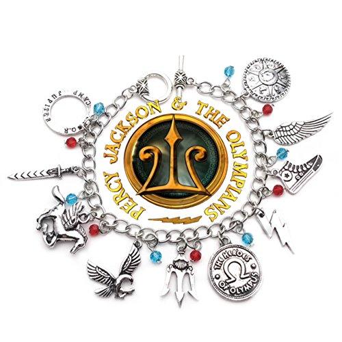 Percy Jackson charm Bracelet (Percy Silver)
