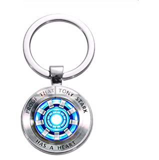 Inveroo Película Iron Man ARC Reactor Llavero Tony Stark ...