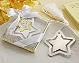 100 ''A Star is Born!'' Metal Bookmark with White-Silk Tassel by Kate Aspen