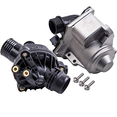 maXpeedingrods Water Pump with Thermostat for BMW E60 E61 E71 E82 E88 E90 F01 11537549476