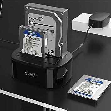 Wewoo Caja Disco Duro para 2.5 Pulgadas/3.5 SATA HDD/SSD ORICO ...