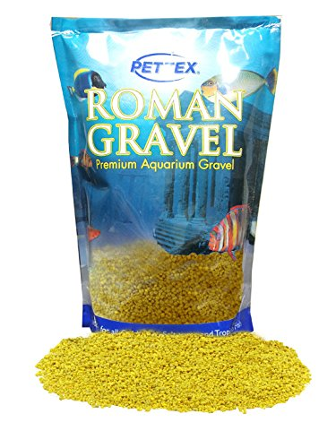 Roman Gravel Lemon Zest Aquarium Gravel 2kg (Roman Gravel)