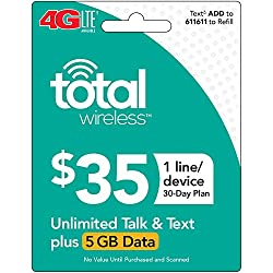 Image of the product Total Wireless Single that is listed on the catalogue brand of Total Wireless.
