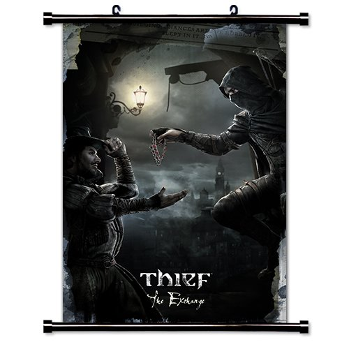 Thief Game Fabric Wall Scroll Poster  Inches
