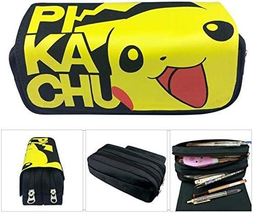 N / A Kawaii Pokemon Pikachu Estuche para niñas de Alta Capacidad Multifunción Cute Zipper School Estuche para lápices Oficina y útiles Escolares como espectáculo: Amazon.es: Hogar