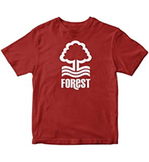 TJSPORTS Nottingham Forest FC Red T Shirt Soccer Football England