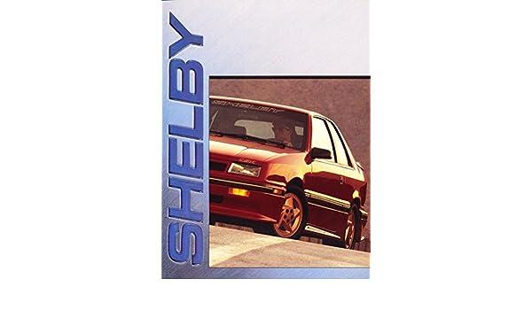 Amazon.com: 1990 Shelby CSX Dakota Truck 12-page Original Car Sales Brochure Catalog - Dodge: Everything Else
