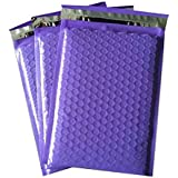 ProLine #5 Extra Wide 10.5x16 inches Purple Poly High Bubble Mailers Padded Envelopes Bubble Mailers (10)