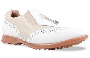 Madison II Women's Golf Shoes (Almond, 6)