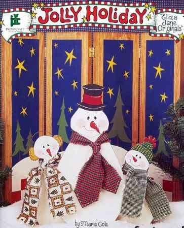 Jolly Holiday - Decorative Tole Painting (Eliza Jane Originals)