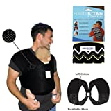 Baby K'Tan Bundle – 2 items: Black Breeze Baby Carrier AND K'TanCloth, Zig Zag, (Extra Small)
