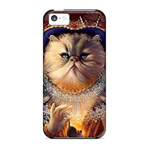 diy phone caseCute Appearance Covers/RDz20544Bftp Queen Of Cats Cases For iphone 5/5sdiy phone case