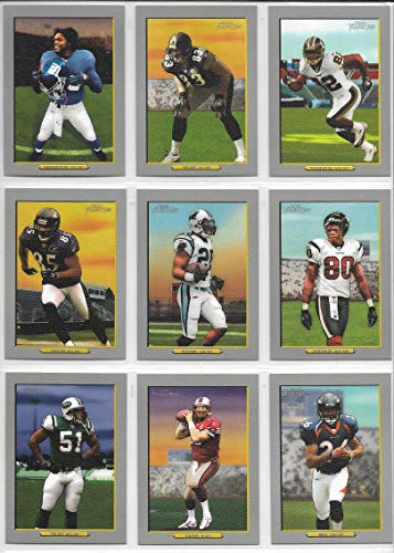 2006 Topps Turkey Red Football Complete 328 Card Set Including All Variations