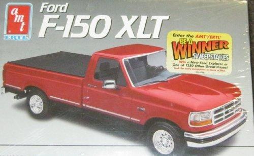 (AMT 1/25 Ford F-150 XLT model kit)